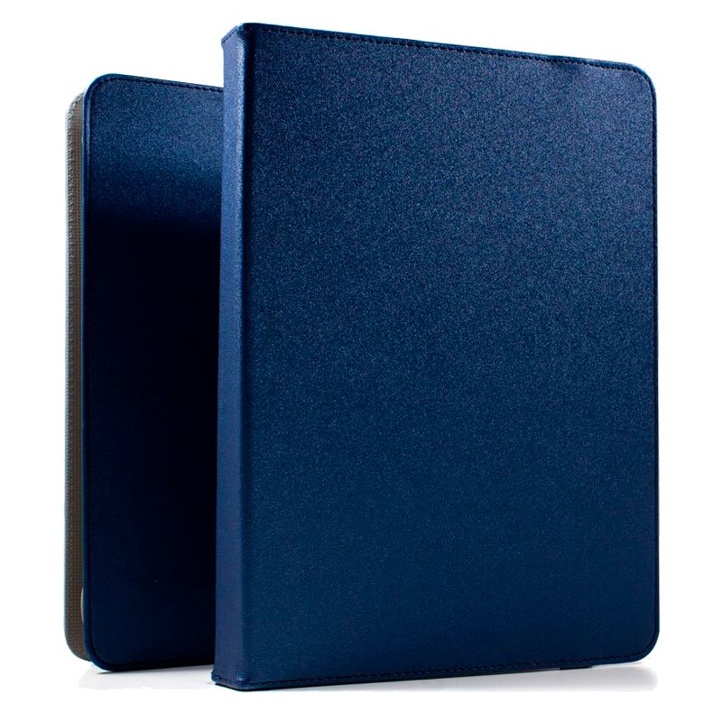 Funda Ebook / Tablet 9 pulg Liso Azul Giratoria