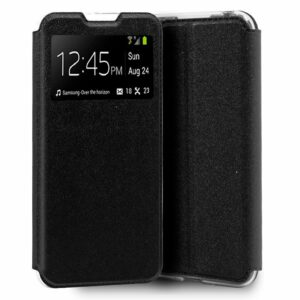 Funda Flip Cover Alcatel 1B (2020) Liso Negro