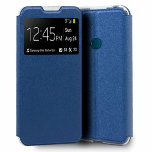 Funda Flip Cover Alcatel 1SE (2020) Liso Azul