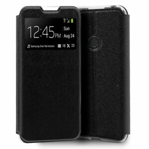 Funda Flip Cover Alcatel 3X (2019) Liso Negro