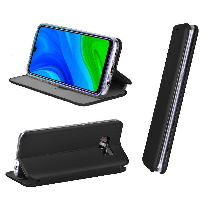 Funda Flip Cover Huawei P Smart 2020 Elegance Negro