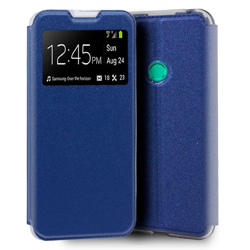 Funda Flip Cover Huawei P Smart 2020 Liso Azul