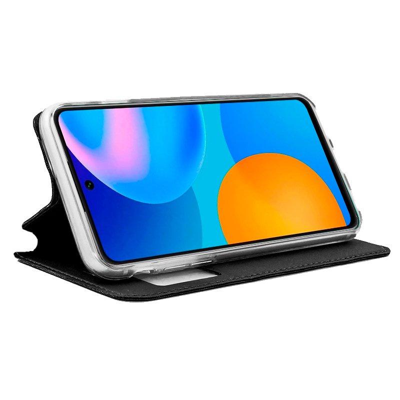 Funda Flip Cover Huawei P Smart 2021 Liso Negro
