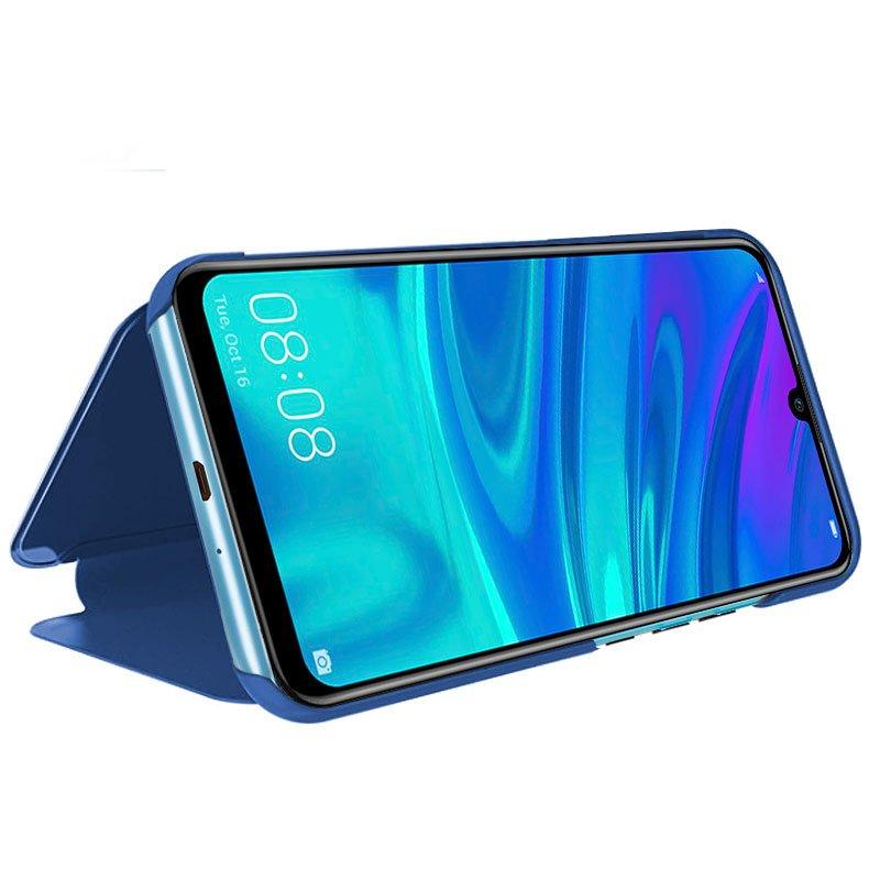 Funda Flip Cover Huawei P Smart Plus (2019) / P Smart (2019) / Honor 10 Lite / 20 Lite Clear View Azul