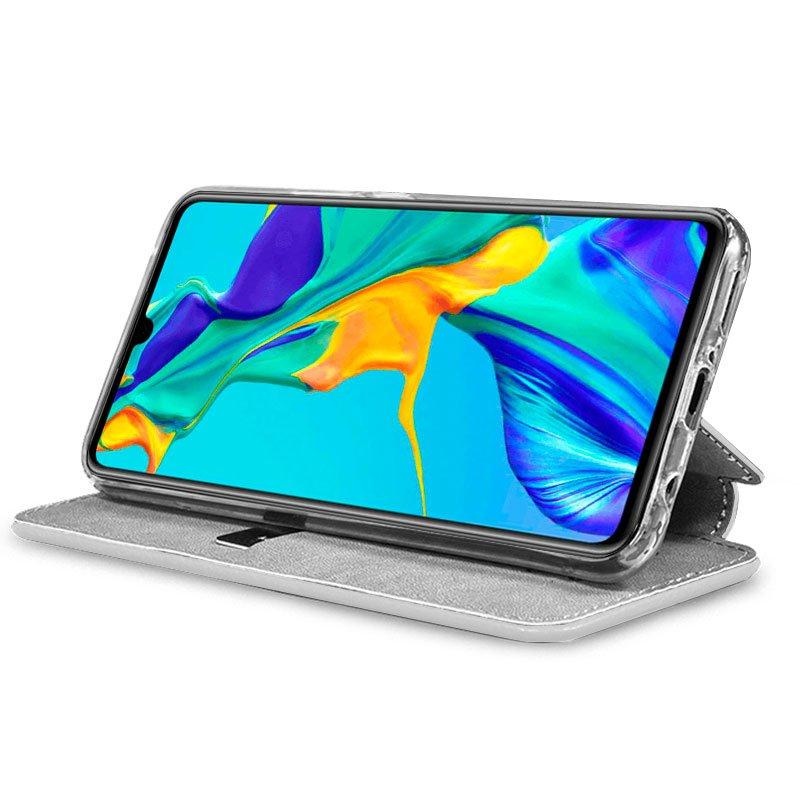 Funda Flip Cover Huawei P30 Dibujos Calavera