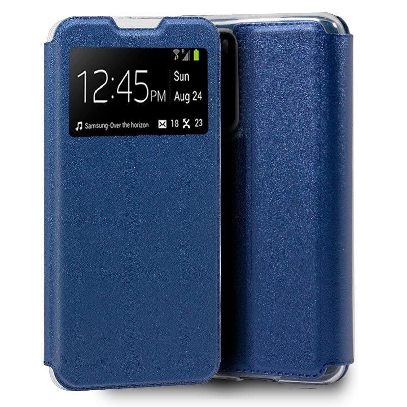 Funda Flip Cover Huawei P40 Liso Azul