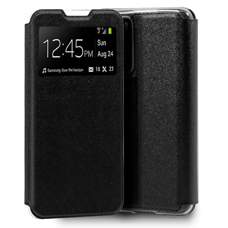 Funda Flip Cover Huawei P40 Liso Negro