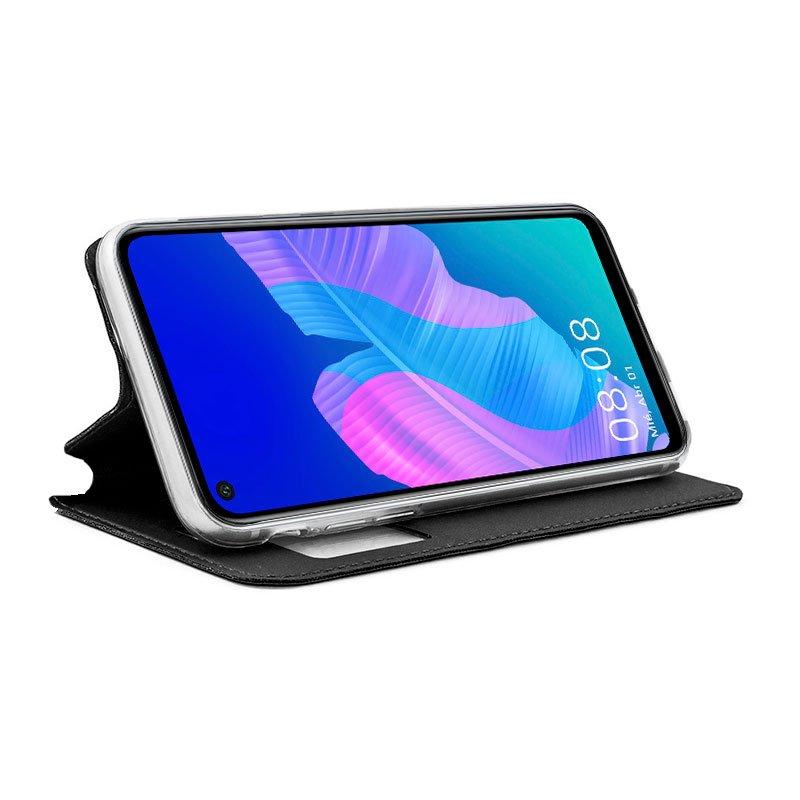 Funda Flip Cover Huawei P40 Lite E Liso Negro
