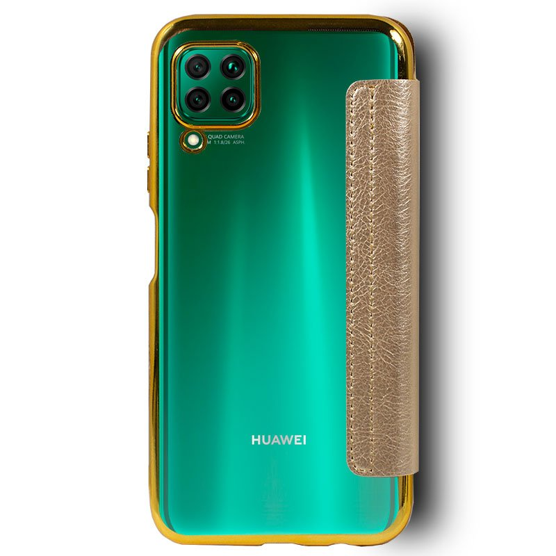 Funda Flip Cover Huawei P40 Lite Leather Dorado