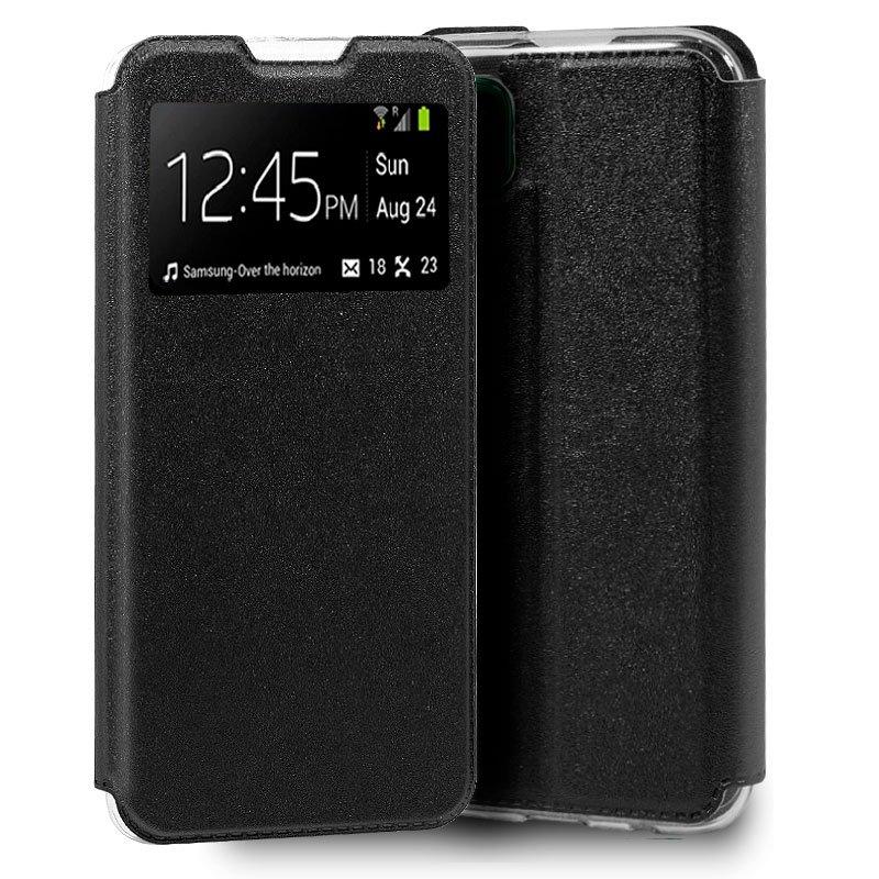 Funda Flip Cover Huawei P40 Lite Liso Negro