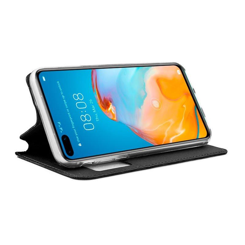 Funda Flip Cover Huawei P40 Pro Liso Negro