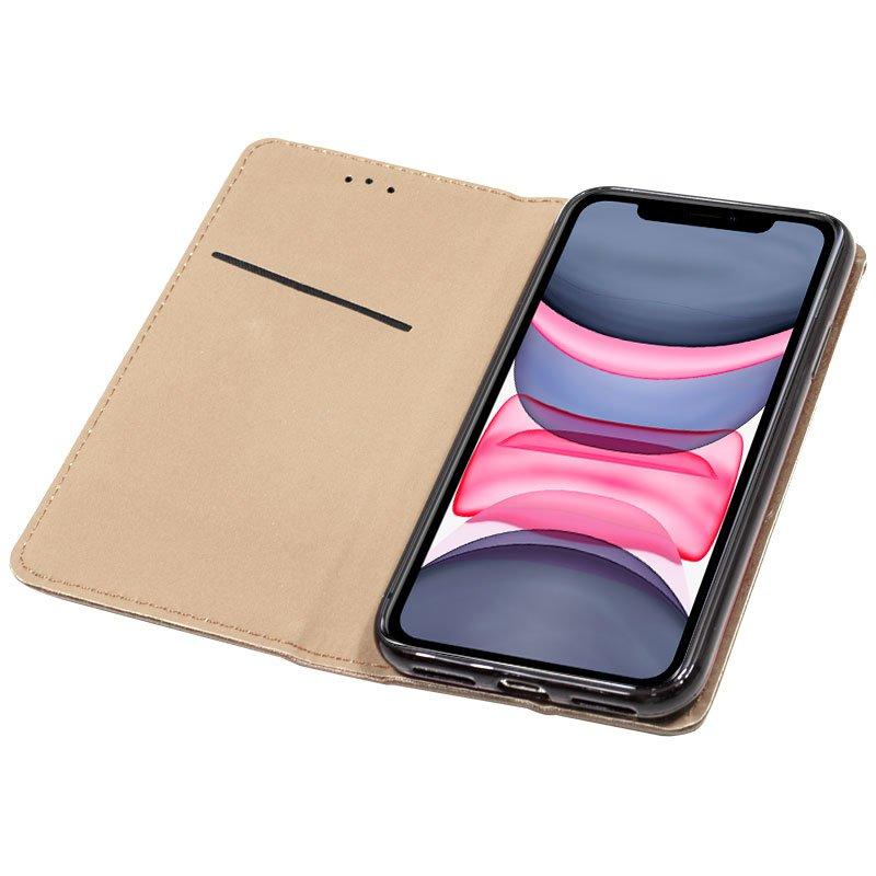 Funda Flip Cover iPhone 11 Liso Beige