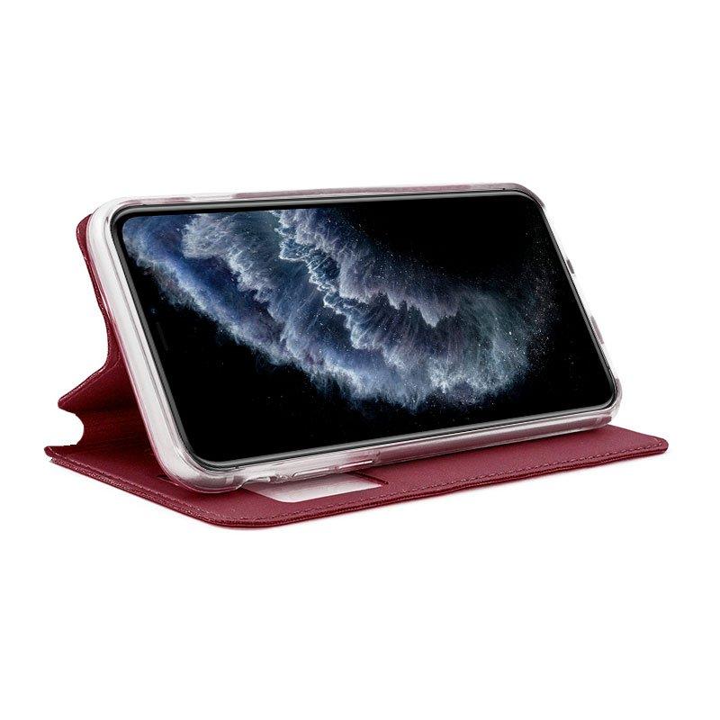 Funda Flip Cover iPhone 11 Pro Liso Rojo