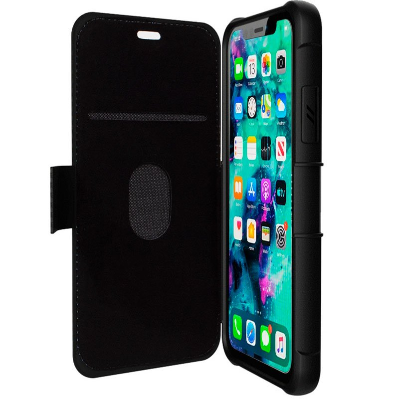 Funda Flip Cover iPhone 11 Pro Max Texas Negro