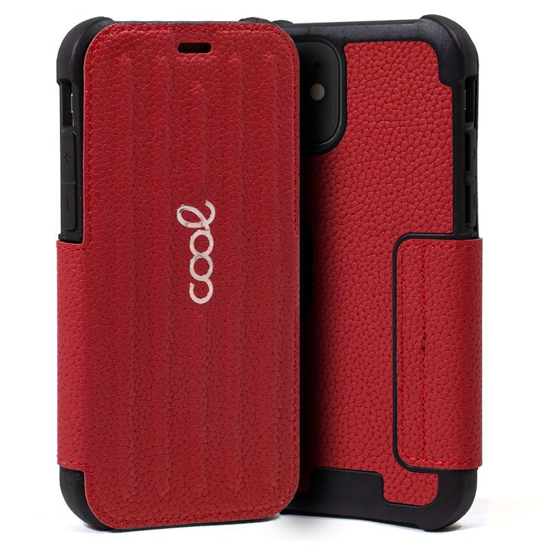 Funda Flip Cover iPhone 11 Pro Max Texas Rojo