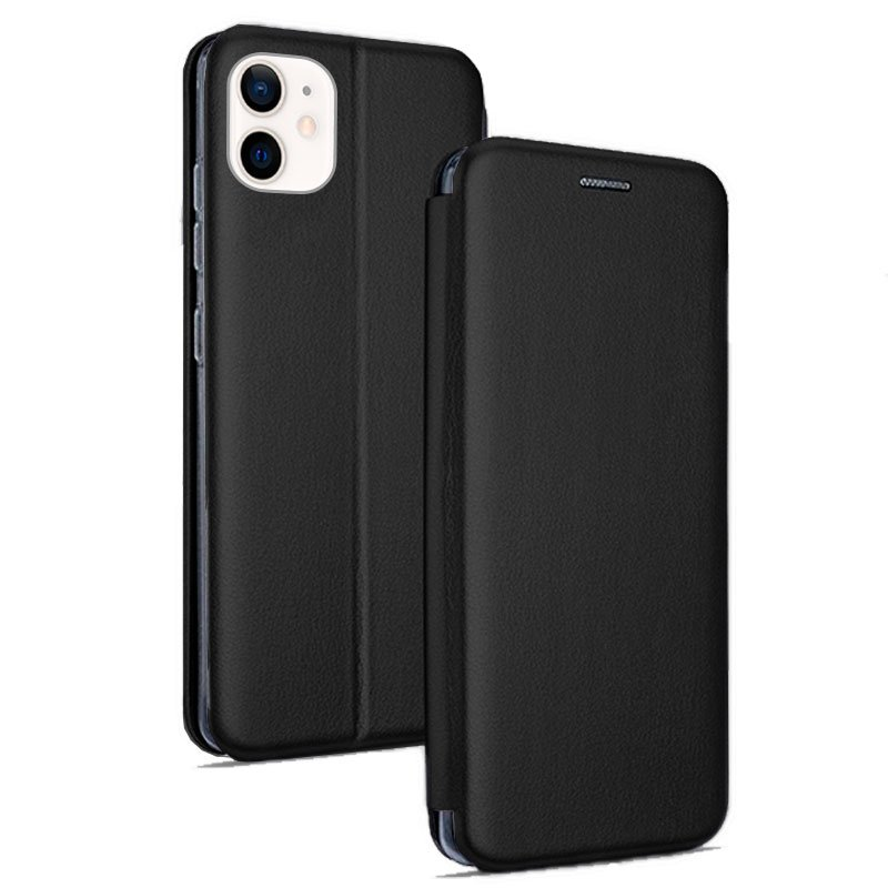 Funda Flip Cover iPhone 12 mini Elegance Negro