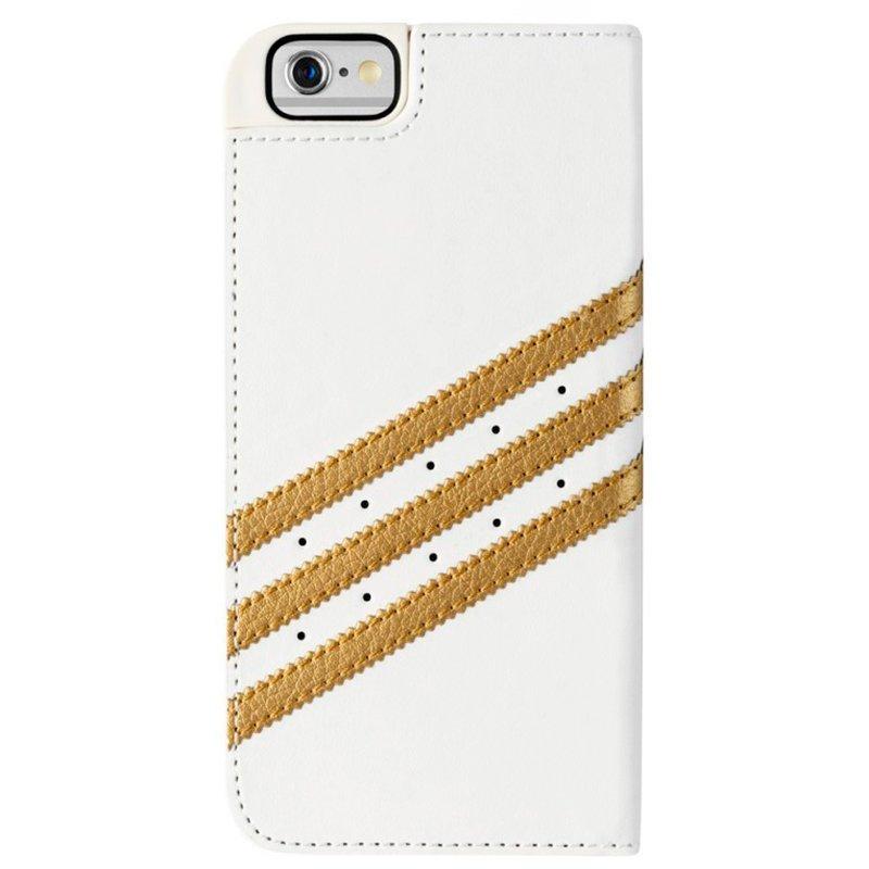 Funda Flip Cover iPhone 6 / 6s Licencia Adidas Blanco