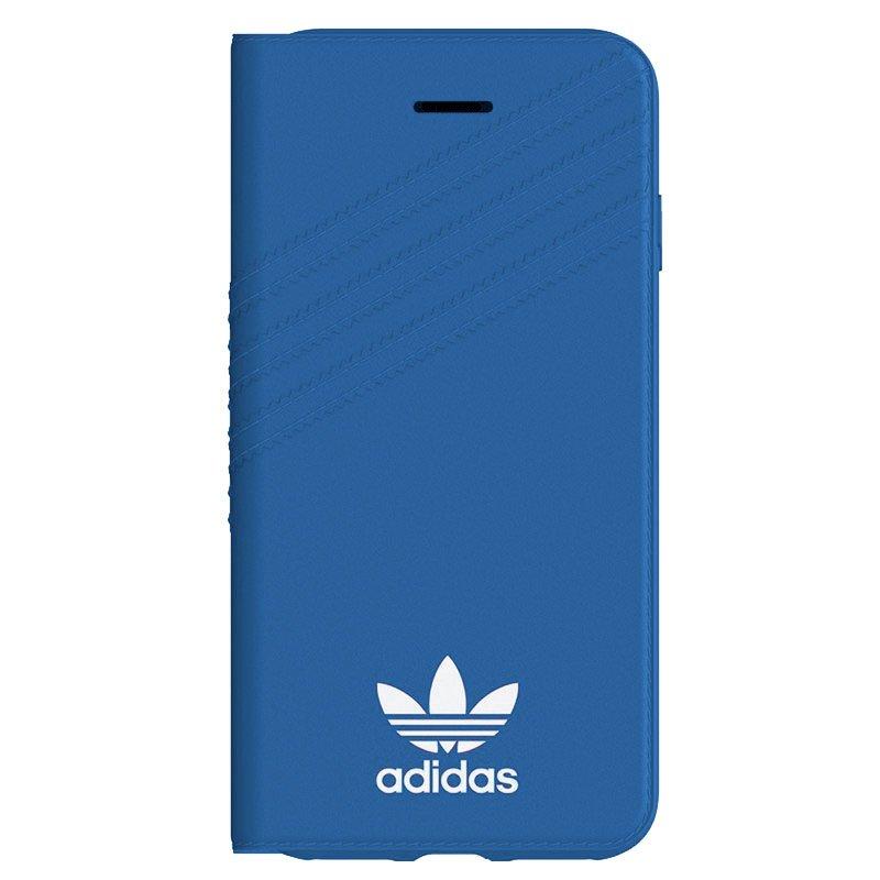 Funda Flip Cover iPhone 6 / 7 / 8 / SE (2020) Licencia Adidas Azul