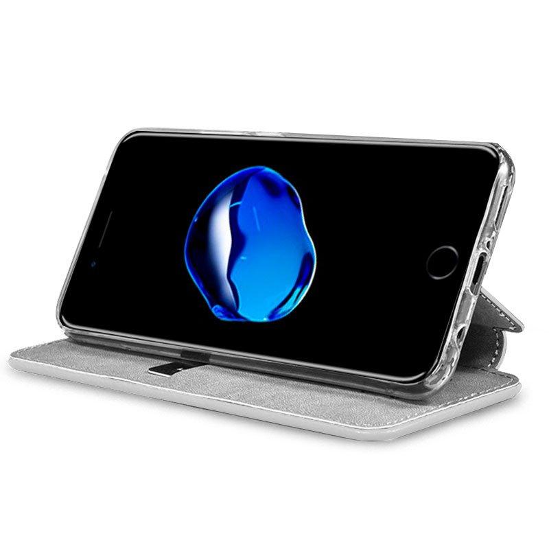 Funda Flip Cover iPhone 7 / 8 / SE (2020) Dibujos Calavera