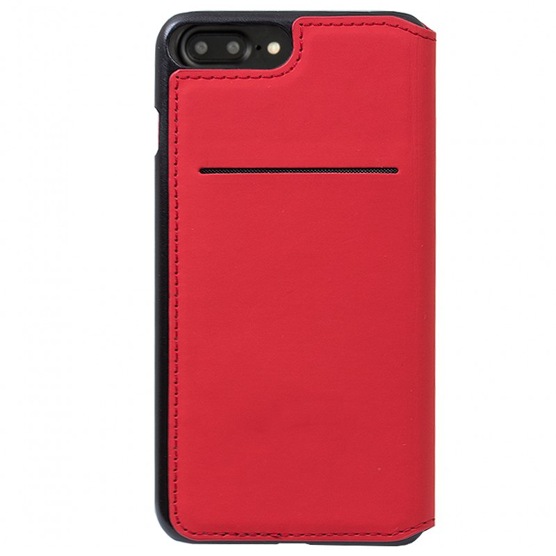 Funda Flip Cover iPhone 7 Plus / iPhone 8 Plus Licencia Ferrari Rojo