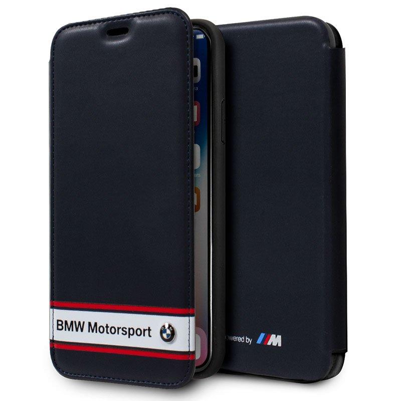 Funda Flip Cover iPhone X / iPhone XS Licencia BMW Motorsport