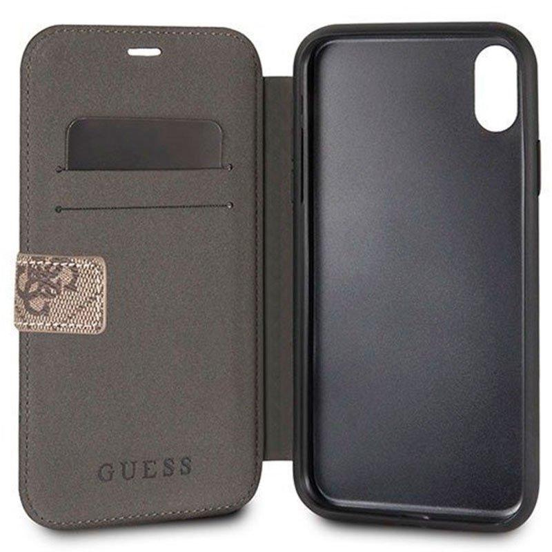 Funda Flip Cover iPhone X / iPhone XS Licencia Guess Tela