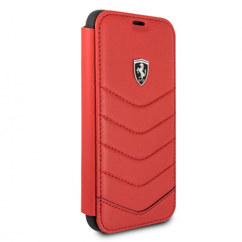 Funda Flip Cover iPhone XR Licencia Ferrari Rojo