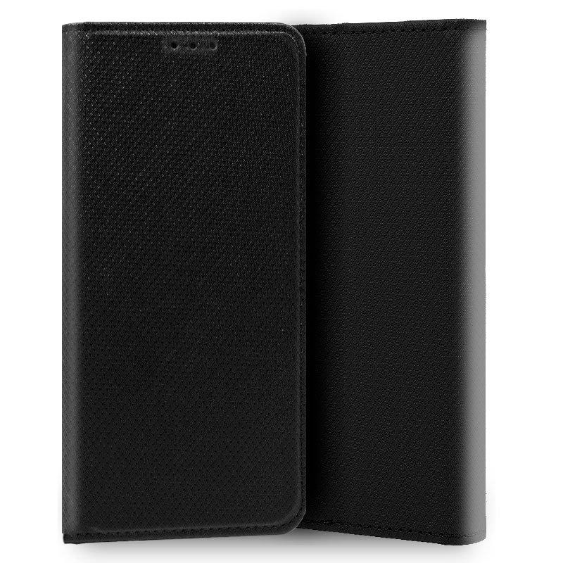 Funda Flip Cover iPhone XR Liso Negro