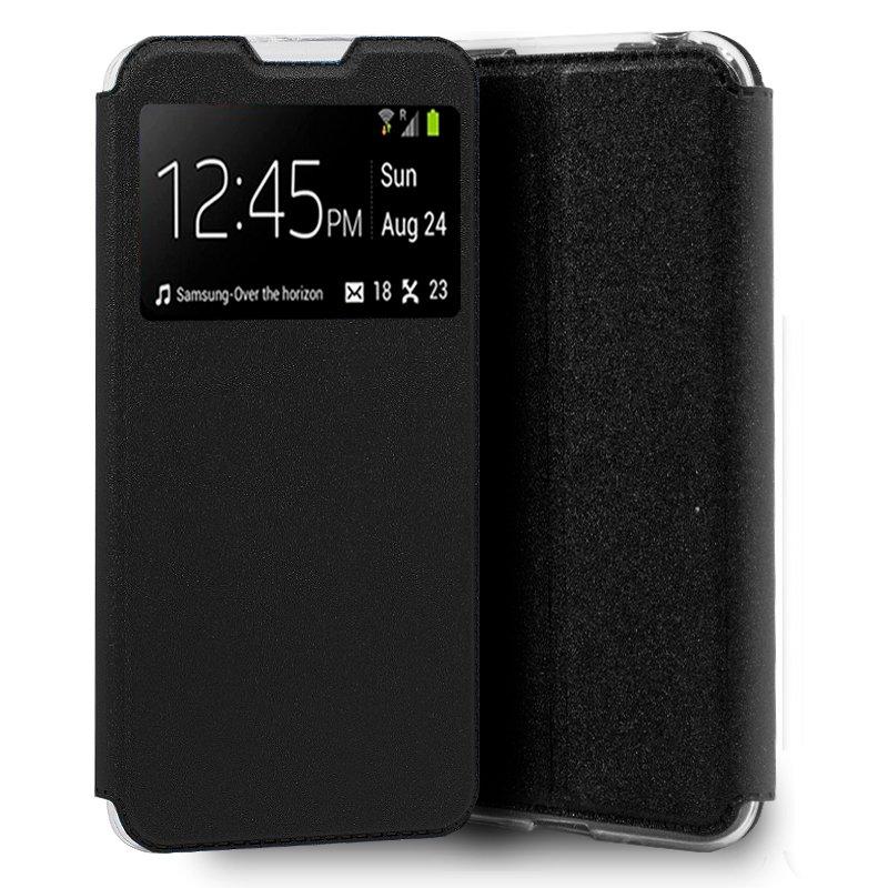 Funda Flip Cover LG K22 Liso Negro