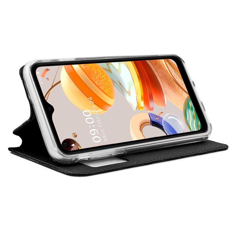 Funda Flip Cover LG K41s / K51s Liso Negro