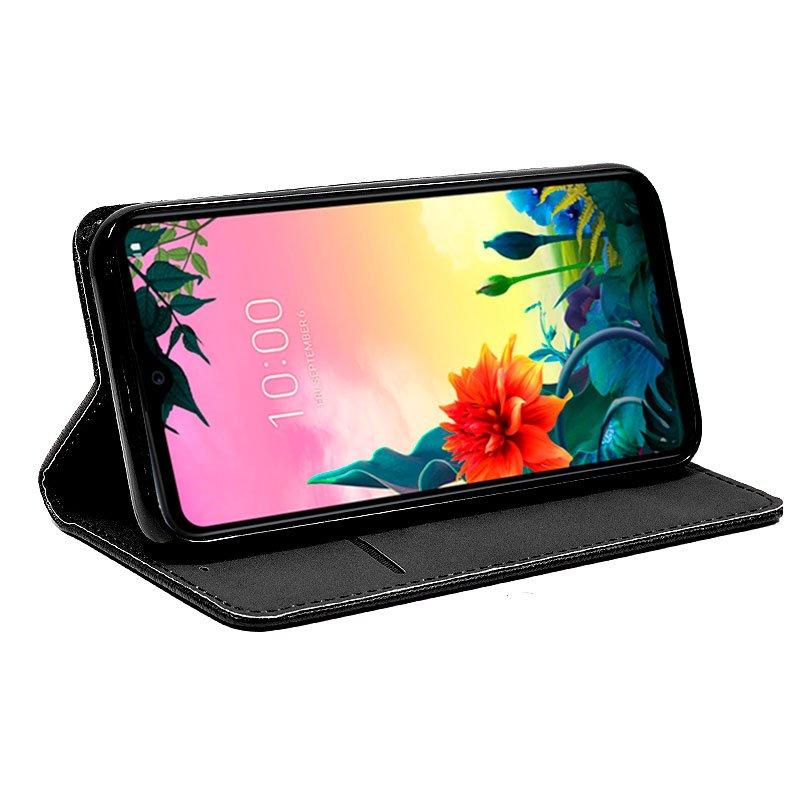 Funda Flip Cover LG K50s Liso Negro