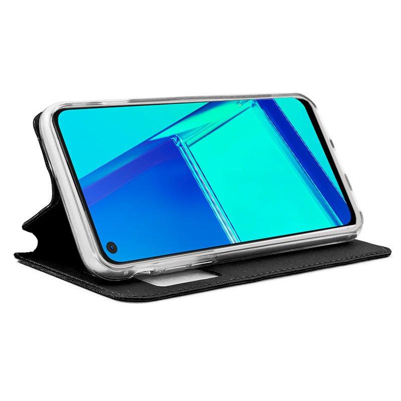 Funda Flip Cover Oppo A52 / A72 / A92 Liso Negro