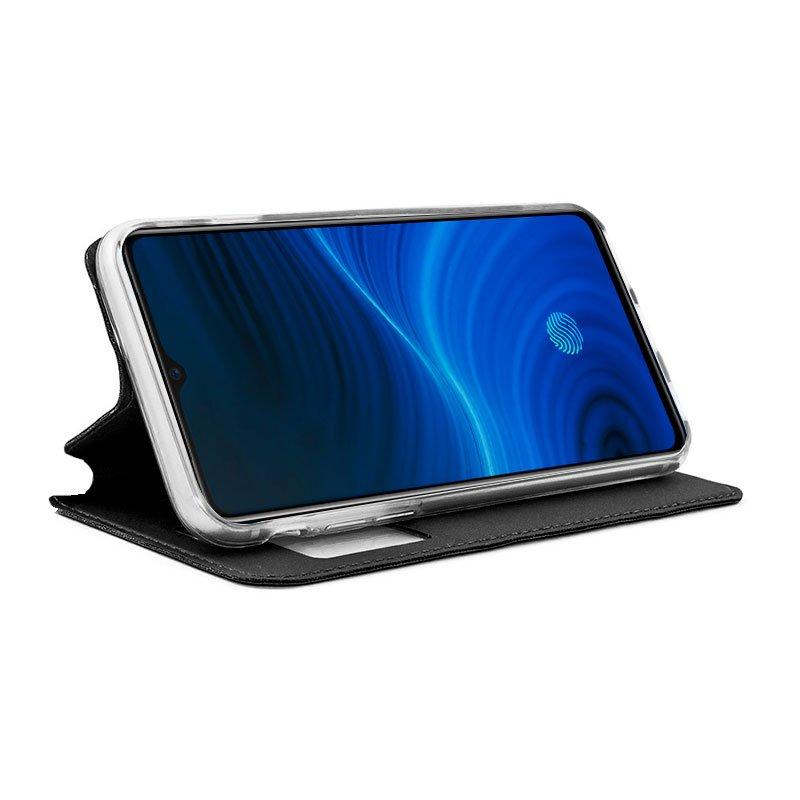 Funda Flip Cover Realme X2 Pro Liso Negro