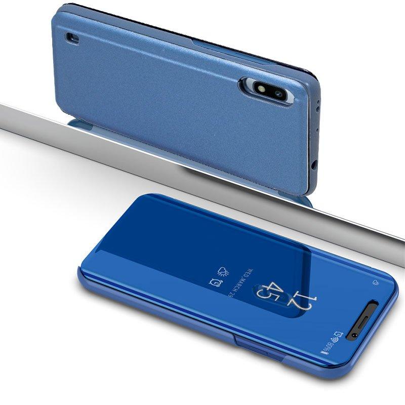 Funda Flip Cover Samsung A105 Galaxy A10 Clear View Azul
