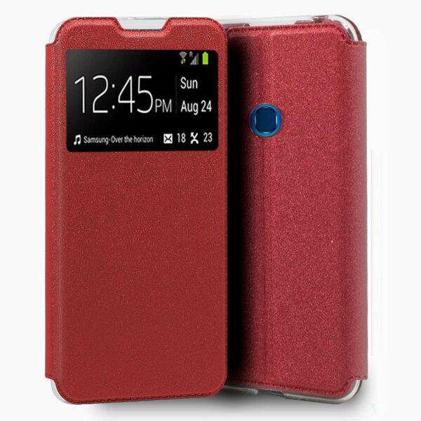 Funda Flip Cover Samsung A207 Galaxy A20s Liso Rojo