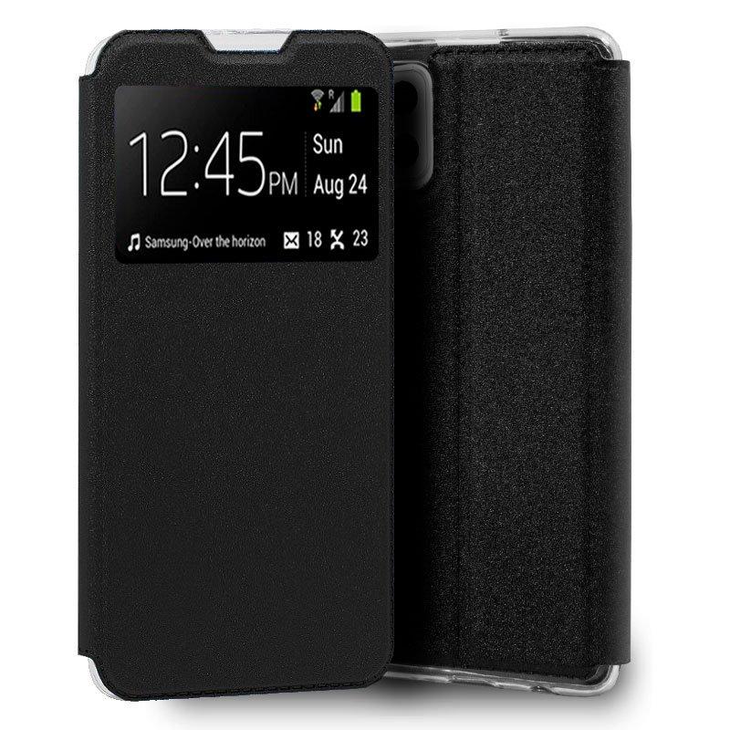 Funda Flip Cover Samsung A426 Galaxy A42 5G Liso Negro