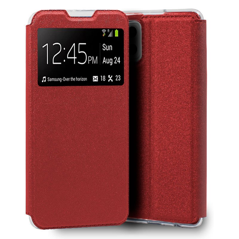 Funda Flip Cover Samsung A426 Galaxy A42 5G Liso Rojo