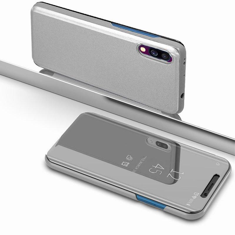 Funda Flip Cover Samsung A505 Galaxy A50 / A30s Clear View Plata