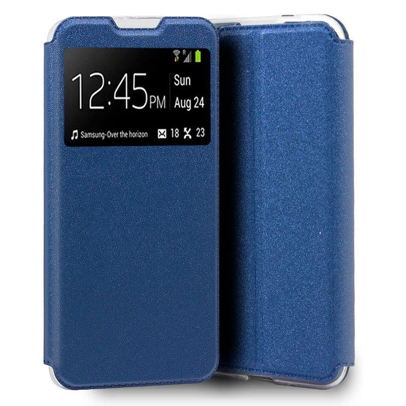 Funda Flip Cover Samsung A505 Galaxy A50 / A30s Liso Azul