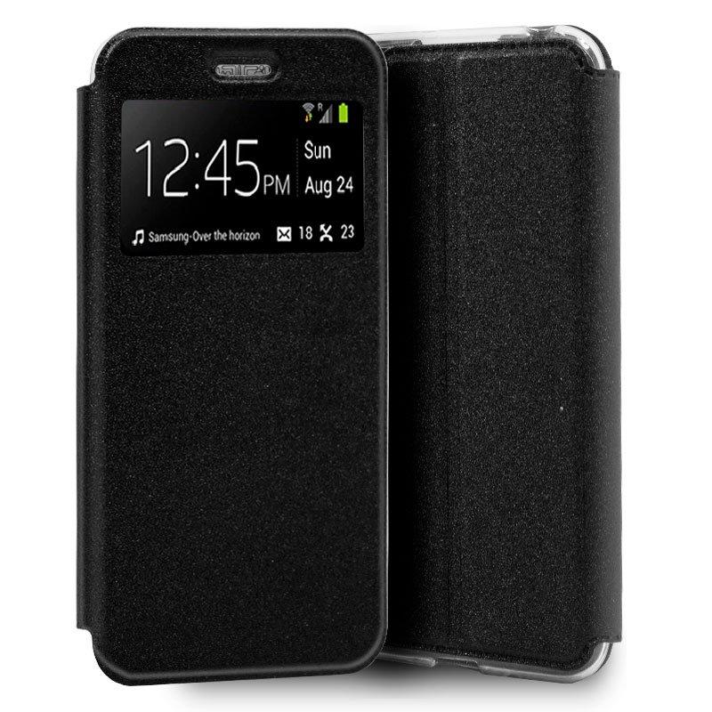 Funda Flip Cover Samsung A505 Galaxy A50 / A30s Liso Negro
