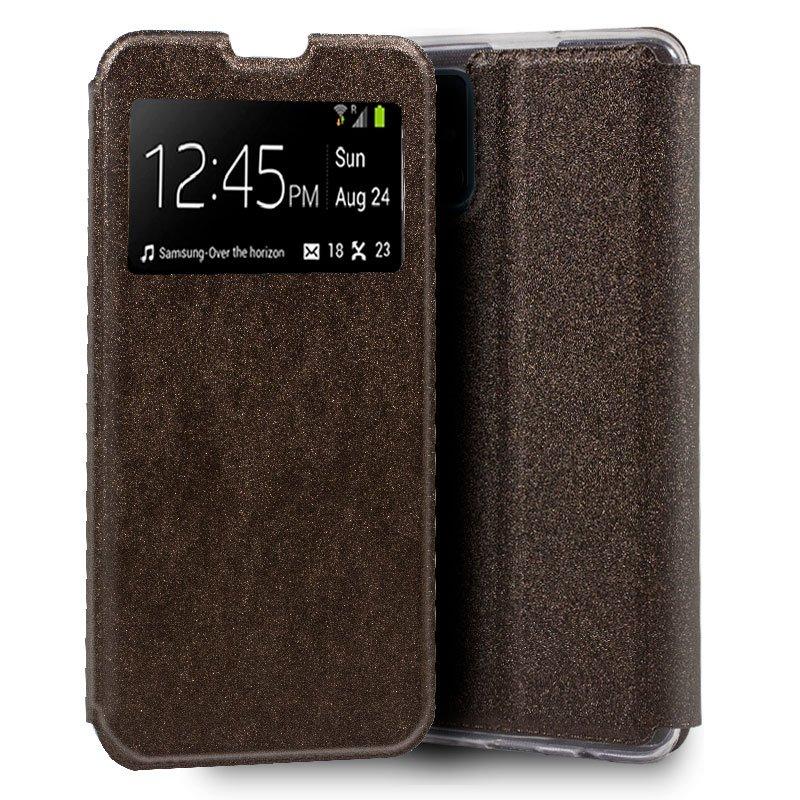 Funda Flip Cover Samsung A515 Galaxy A51 Liso Bronce