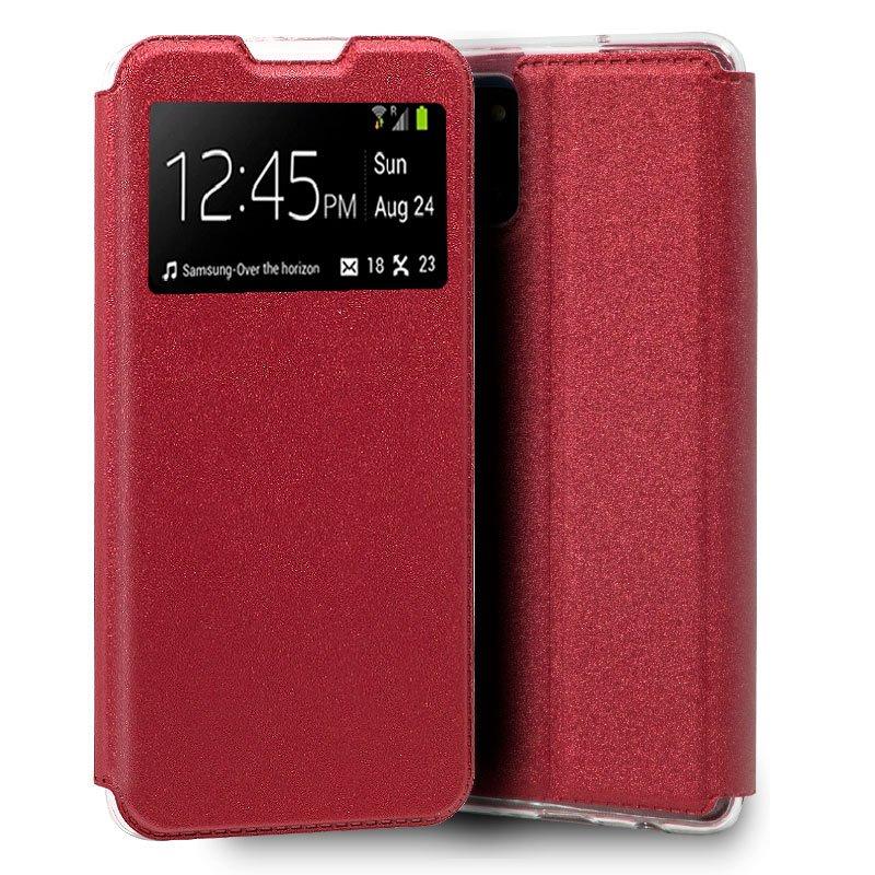Funda Flip Cover Samsung G770 Galaxy S10 Lite Liso Rojo