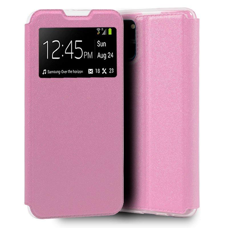 Funda Flip Cover Samsung G770 Galaxy S10 Lite Liso Rosa