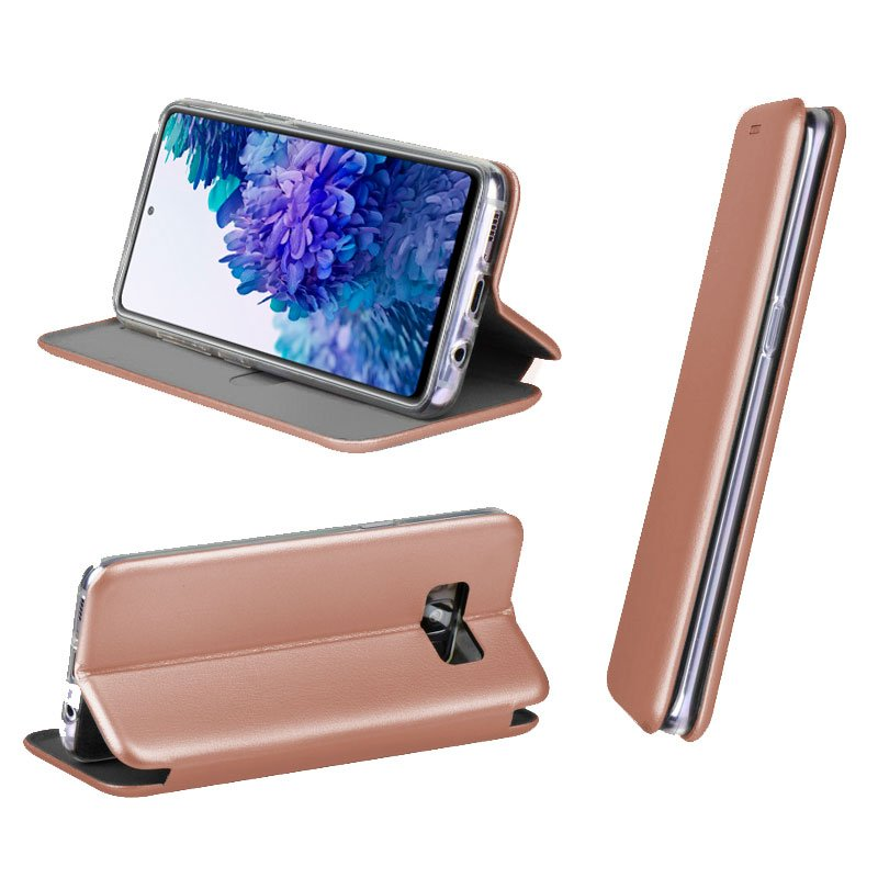 Funda Flip Cover Samsung G780 Galaxy S20 FE Elegance Rose Gold