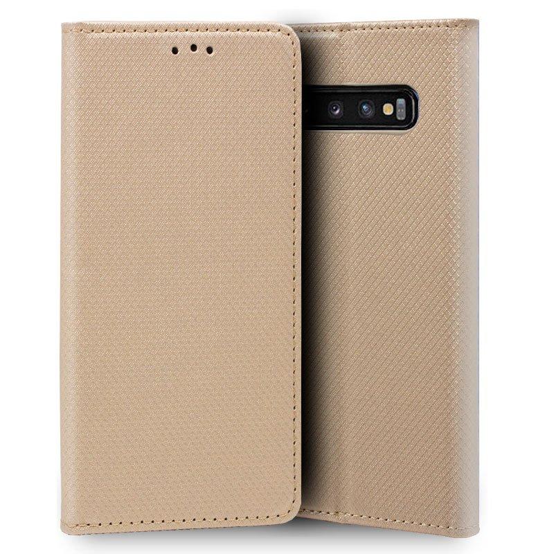 Funda Flip Cover Samsung G970 Galaxy S10e Liso Beige