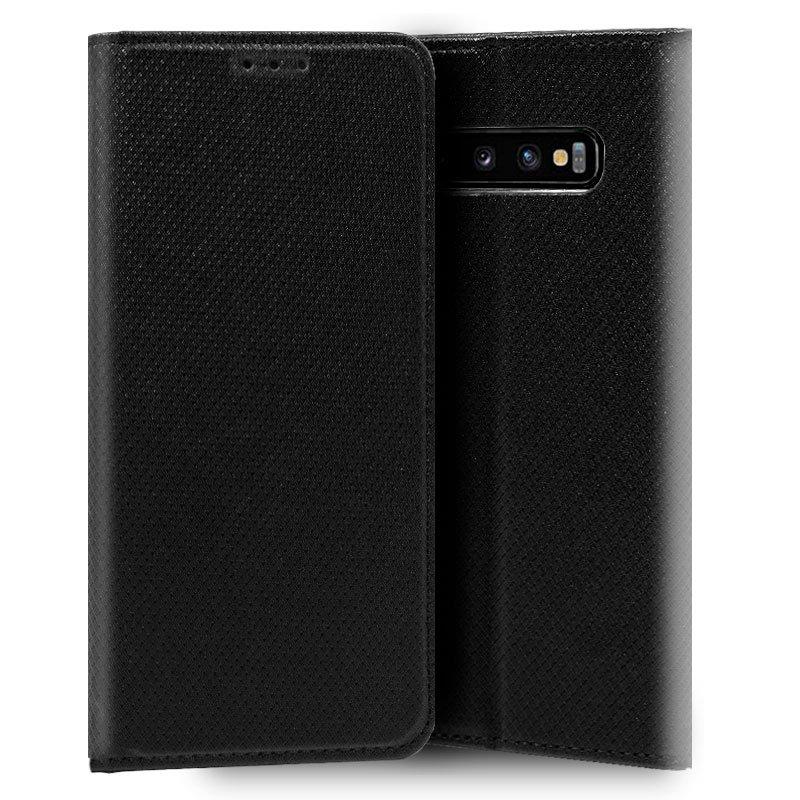 Funda Flip Cover Samsung G973 Galaxy S10 Liso Negro