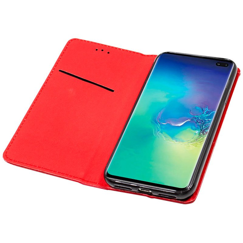 Funda Flip Cover Samsung G975 Galaxy S10 Plus Liso Rojo