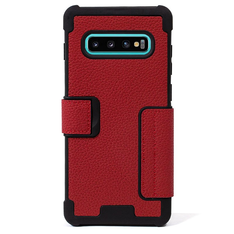 Funda Flip Cover Samsung G975 Galaxy S10 Plus Texas Rojo