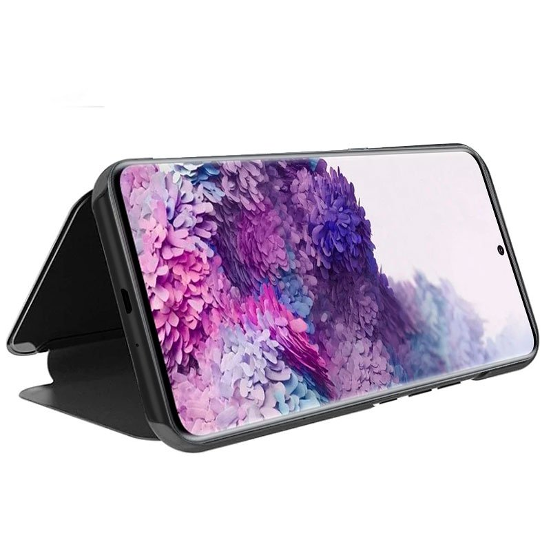 Funda Flip Cover Samsung G980 Galaxy S20 Clear View Negro