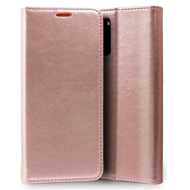 Funda Flip Cover Samsung G980 Galaxy S20 Liso Rosa